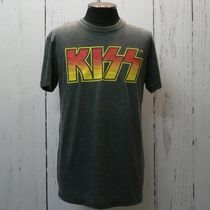Luckybland プリント Tシャツ KISS キッス VENICE Burnout (8901