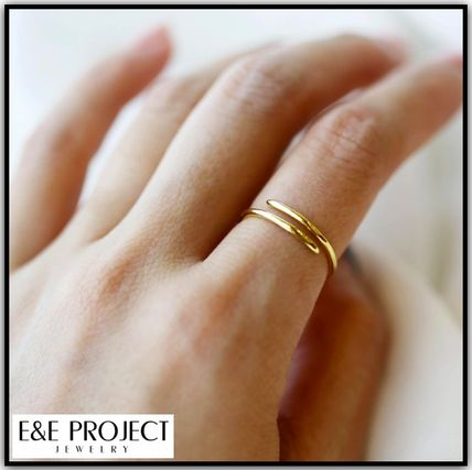 "国内発送☆""E&E Project Jewelry""/ PHALANX SPIRAL RING"