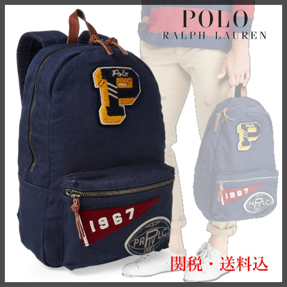 a50188cab69e ... RALPH LAUREN バックパック Pennant Patch Backpack. ※商品画像をクリックすると拡大画像が表示されます