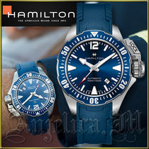送料関税追跡込★Hamilton Khaki Navy Frogman Watch H77705345