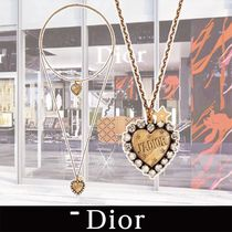 Dior LAmor Avenir Necklace in Gold-tone Aged Metal関税送料込