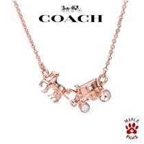 【COACH】日本未発売!限定horse and carriageネックレス90822