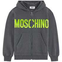 MOSCHINO ジップアップパーカー 4A〜14A