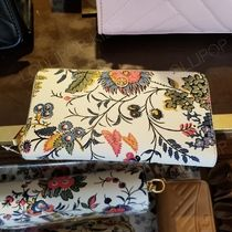 2018AW♪ Tory Burch ★ PARKER FLORAL ZIP CONTINENTAL WALLET