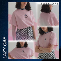 LAZY OAF Vans X  The Wall Tee Tシャツ シャツ 半袖 ピンク