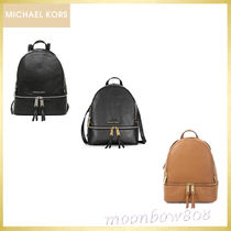 ☆SALE★MICHAEL Kors Rhea Medium Backpack レザー リュック3色