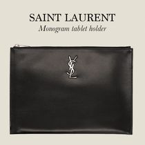 Saint Laurent YSL MONOGRAM タブレット ホルダー