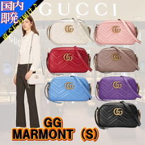 """◆◆VIP◆◆ GUCCI  """"GG Marmont"""" Lether Sholder (S) / 送税込"""