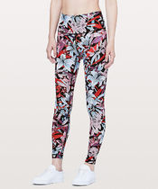 Wunder Under Hi-Rise Tight FULL-ON LUX28*Lush Lillies Multi