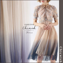 【国内発送・関税込】Chicwish★Pleated Mesh Tulle Dress