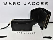 MARC JACOBS(マークジェイコブス) 折りたたみ財布 MARC JACOBS★セール★COMPACT LEATHER WALLET★即発送可♪