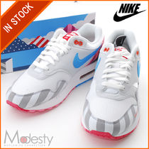【即発】AT3057-100 AIR MAX 1 PARRA MEN'S SHOE WHITE 26cm
