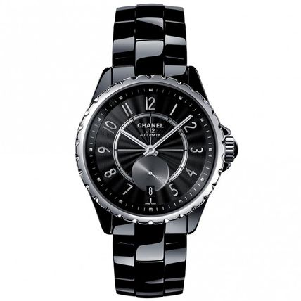 CHANEL アナログ時計 稀少CHANEL(シャネル) J12 Automatic Black Dial Unisex Watch