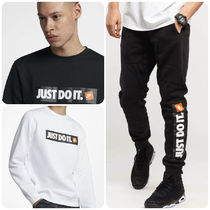 Nike*Just Do It ロゴ入り上下セットアップ*ウエア2色*関送込