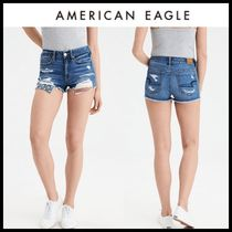 ☆American Eagle Outfitters☆ ダメージデニムショートパンツ