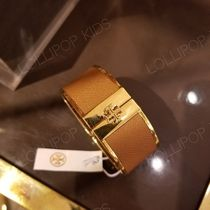 2018AW♪ Tory Burch ★ SKINNY LEATHER INLAY CUFF