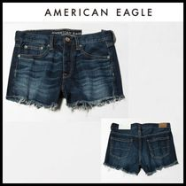 American Eagle Outfitters(アメリカンイーグル) ショートパンツ ☆American Eagle Outfitters☆ コットンデニムショートパンツ