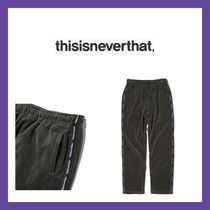 EMS無料 thisisneverthat Velour Track Pant Brown