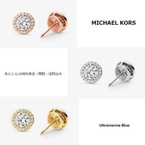 MICHAEL KORS 【国内発送】Precious Metal Sterling Pave Studs