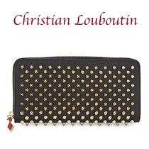 Christian Louboutin Panettone zip around wallet