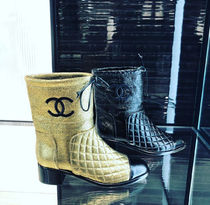 2018F/W最新作★今年も見逃せない★CHANEAL QUILTED CC BOOTS