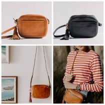AUS発【THE HORSE】Double Zip Cross Body Bag 2色*追跡付き
