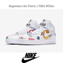 ☆送料無料 Supreme×Nike Air Force 1 NBA White 28.5cm☆