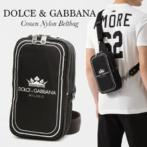DOLCE & GABBANA クロスボディバッグ プリントナイロン