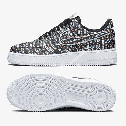 Nike スニーカー NIKE★AIR FORCE 1 '07 LV8 JDI★ロゴ★JUST DO IT COLLECTION(4)