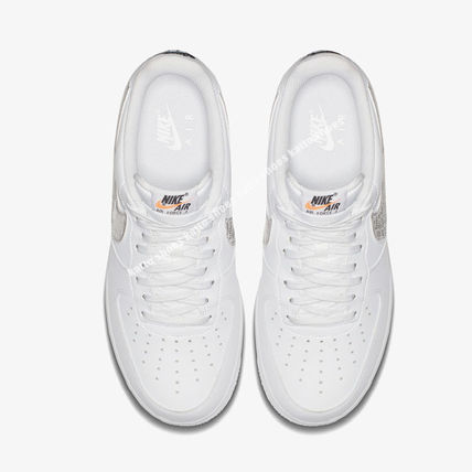 Nike スニーカー NIKE★AIR FORCE 1 '07 LV8 JDI★ロゴ★JUST DO IT COLLECTION白(2)