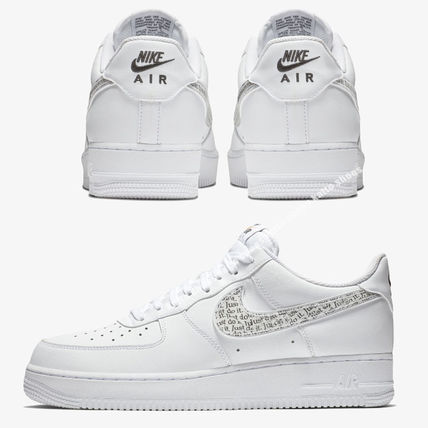 Nike スニーカー NIKE★AIR FORCE 1 '07 LV8 JDI★ロゴ★JUST DO IT COLLECTION白(3)
