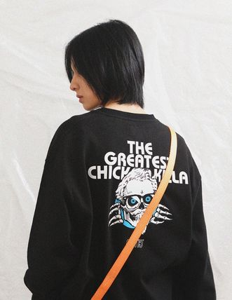 CRITIC Tシャツ・カットソー ★関税込★CRITIC★SKULL CHICKEN KILLA LONG SLEEVE T-SHIRT★(2)