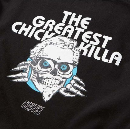 CRITIC Tシャツ・カットソー ★関税込★CRITIC★SKULL CHICKEN KILLA LONG SLEEVE T-SHIRT★(10)