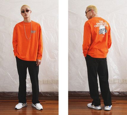 CRITIC Tシャツ・カットソー ★関税込★CRITIC★SKULL CHICKEN KILLA LONG SLEEVE T-SHIRT★(13)