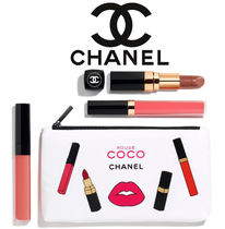 お得ポーチつき[CHANEL] ROUGE COCO CORAL SET