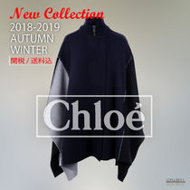 2018-19秋冬 Chloe cashmere wool knit coat