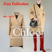 2018-19秋冬 Chloe wool dressing gown