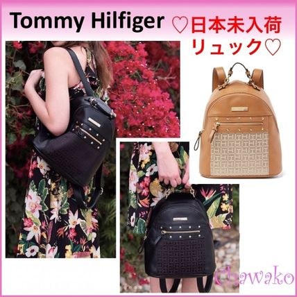 Tommy HilfigerリュックClaudia II Dome大人気のバックパック2色