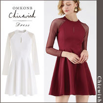 【国内発送・関税込】Chicwish★Elegant Edition Mesh Dress