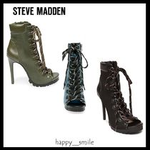 §Steve Madden§ 国内発送 レースアップピンヒールブーティ