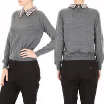DIOR Pullover With Sequins Collar