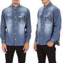 DIOR HOMME Cotton Denim Shirt