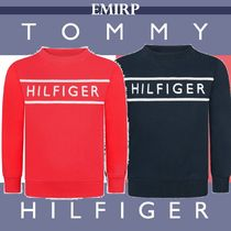 ☆18AW☆Tommy Hilfiger★大人もOK★ロゴスウェット[8~16Y]