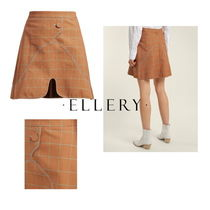 ELLERY(エレリー) ミニスカート 【ELLERY】Milky Way check mini skirt