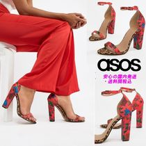 ASOS DESIGN Highball barely there heeled sandals♪