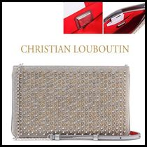 ◆Christian Louboutin◆ Ruby Posi Clutch & Cross Bag