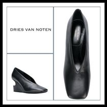 ★★Dries Van Noten 《 LEATHER LINO PUMPS 》送料込み★★