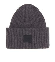 【ACNE STUDIOS】Pansy Face wool-blend beanie
