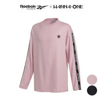★Reebok★ [WANNA ONE'S PICK] line tape long sleeved
