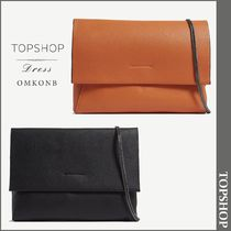 【国内発送・関税込】TOPSHOP★Leila grained leather clutch